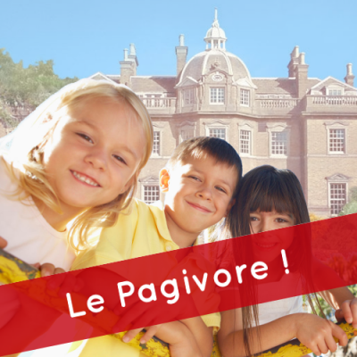 "Le Pagivore ! ""Hampton court House School (KT8 9BS)"""